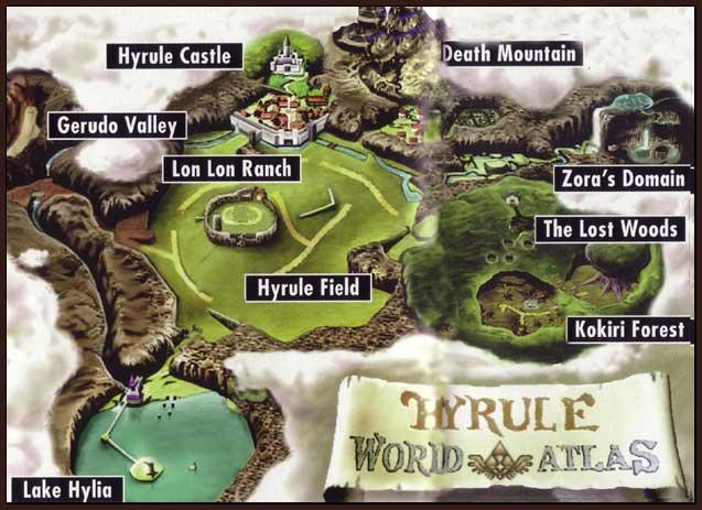 Art Of Gaming 101 The Legend Of Zelda Ocarina Of Time