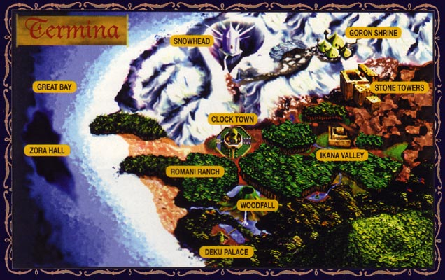 could termina s moon be the reason hyrule is an island in fsa